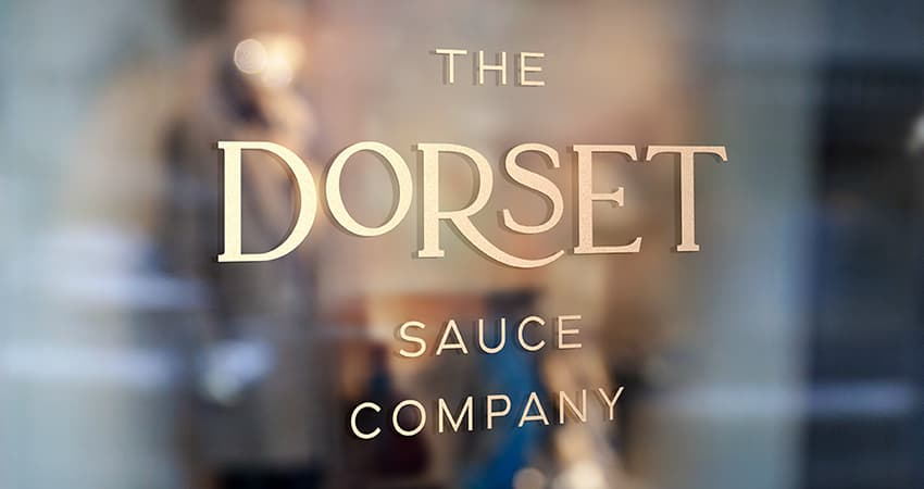 Dorset Sauces Window 850