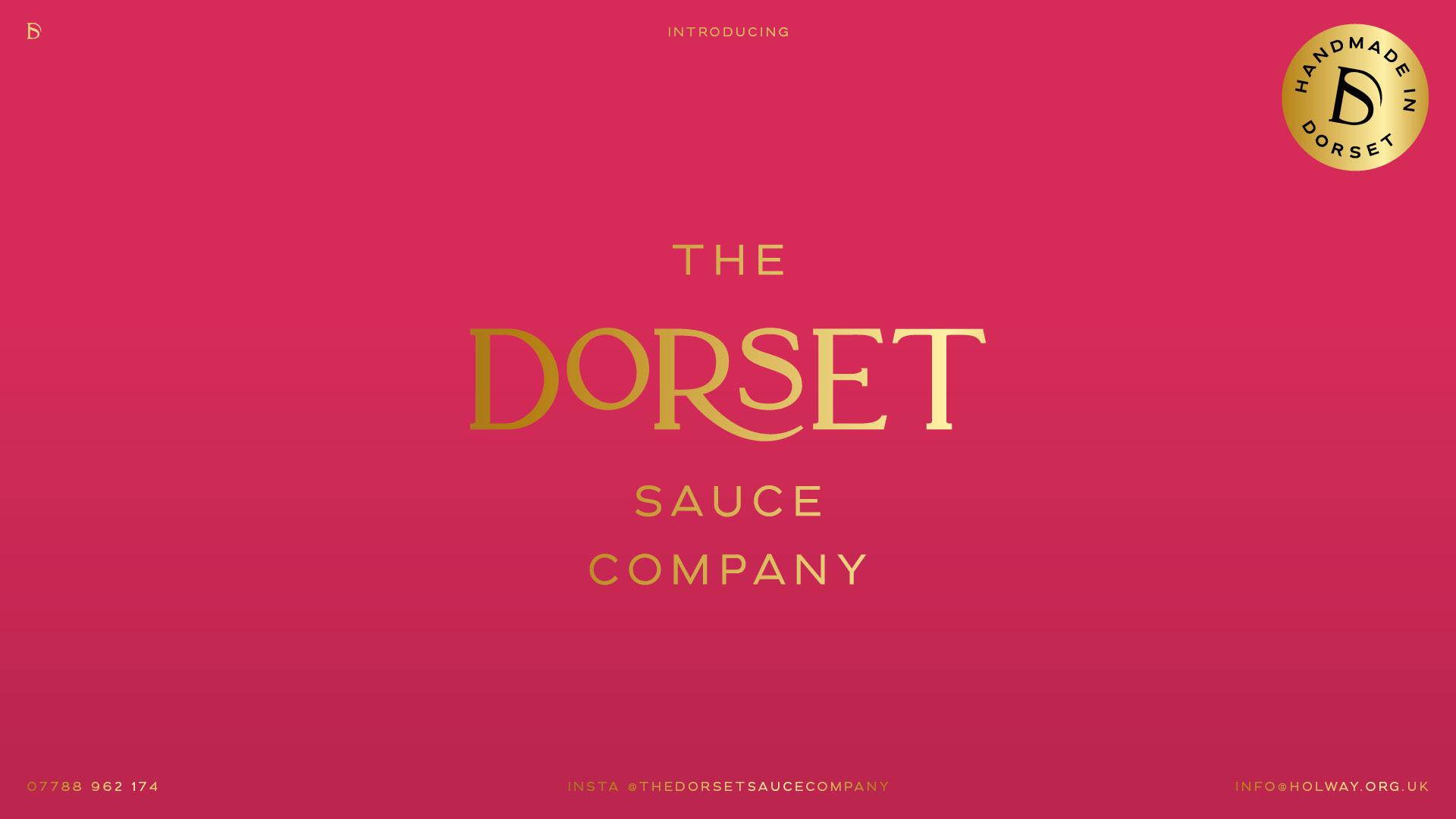 The Dorset Sauce Company - Gold Logo