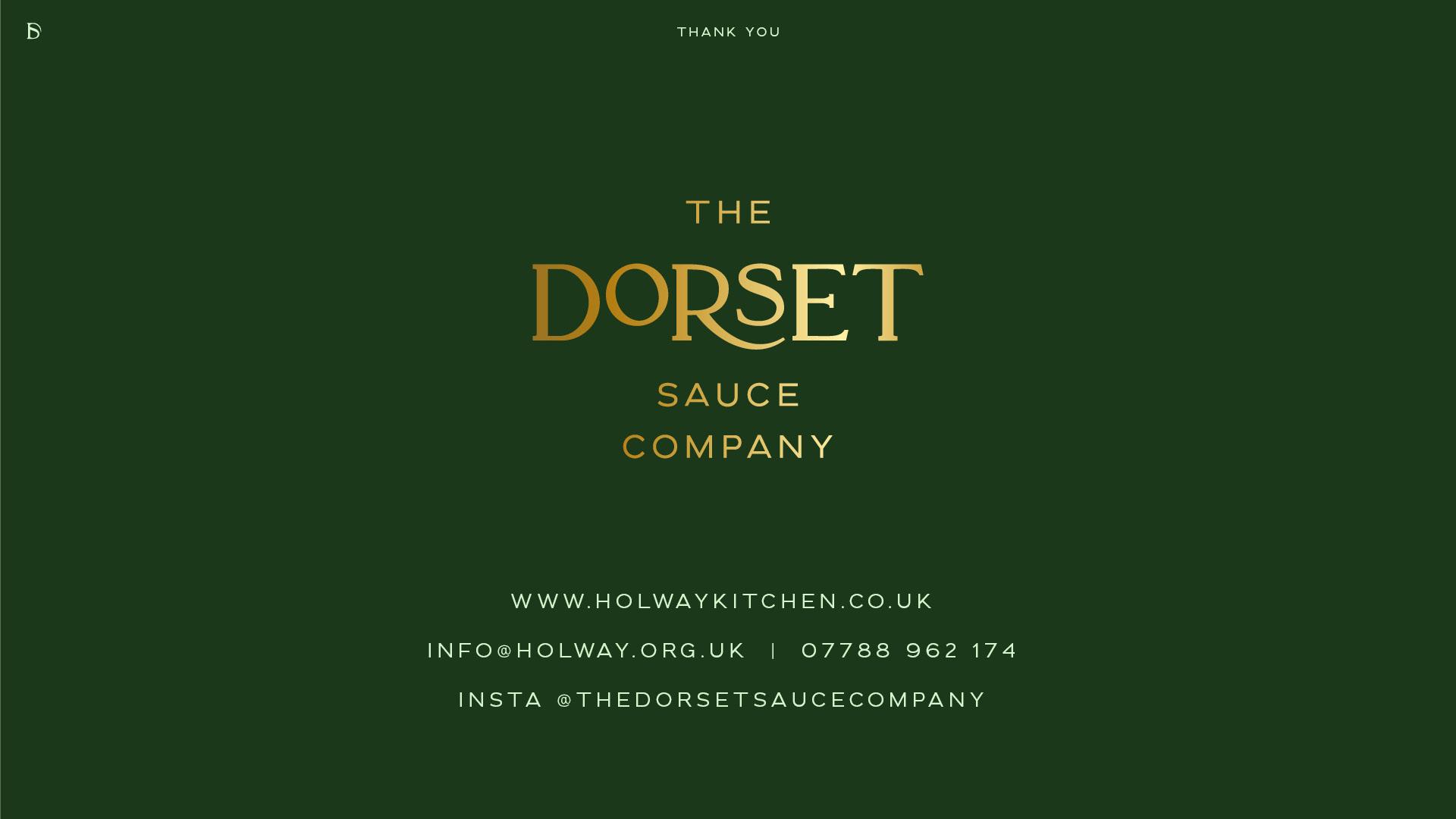 The Dorset Sauce Company - Contact Details